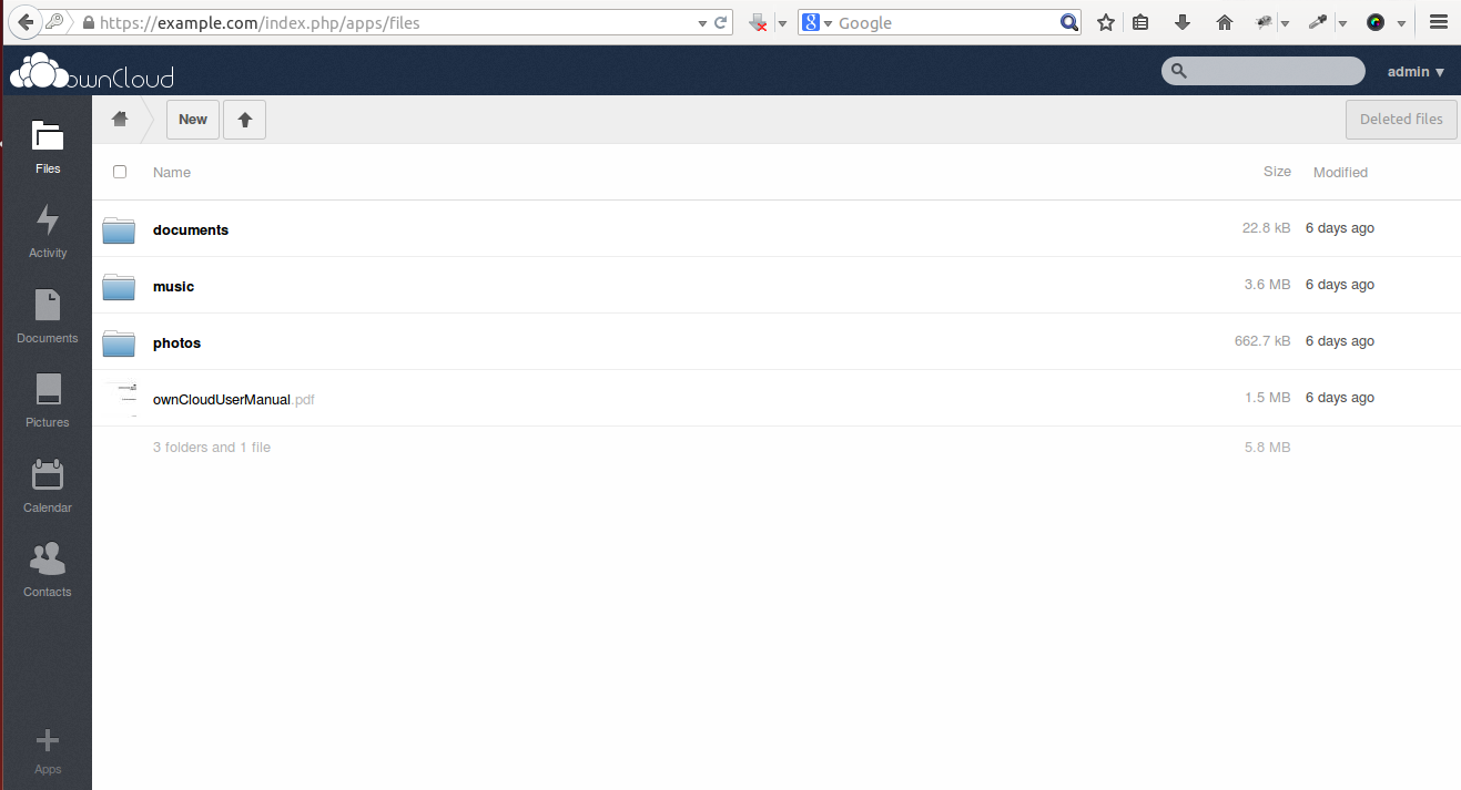 Setup self signed ssl certificate on owncloud 6 in ubuntu 1404 owncloud ssl 3 example xflitez Image collections